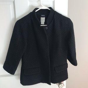 Gap Textured Blazer Jacket